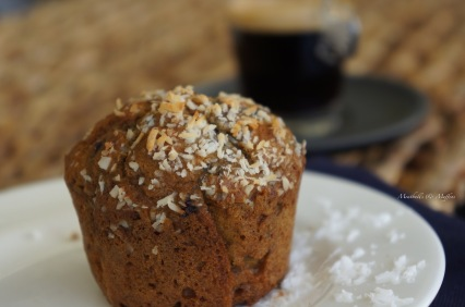 BlackberryandCoconut muffin