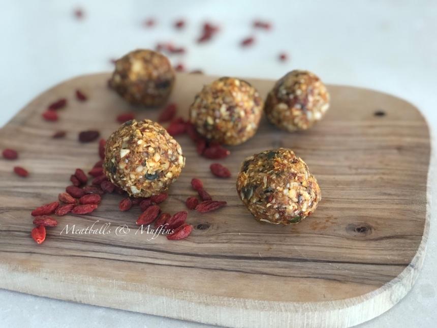Goji Berries Protein Balls 4