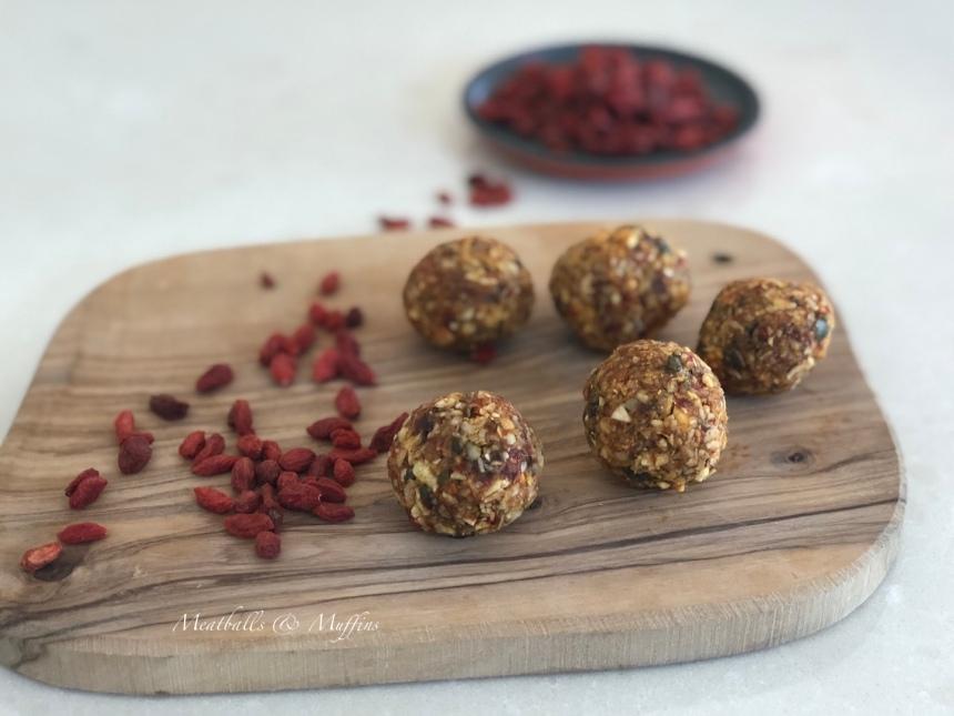Goji Berries Protein Balls 5