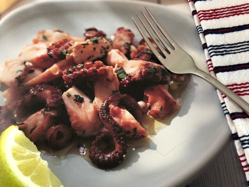 Aromatic Greek Octopus Salad