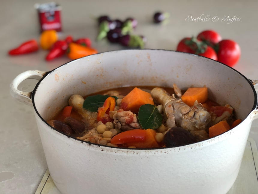 Summer Chicke Stew & Veg