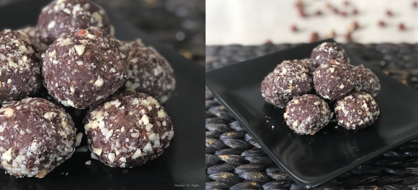 Choc Hazelnut Bliss Balls