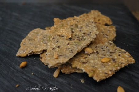 Seeds & Sesame Crackers 2